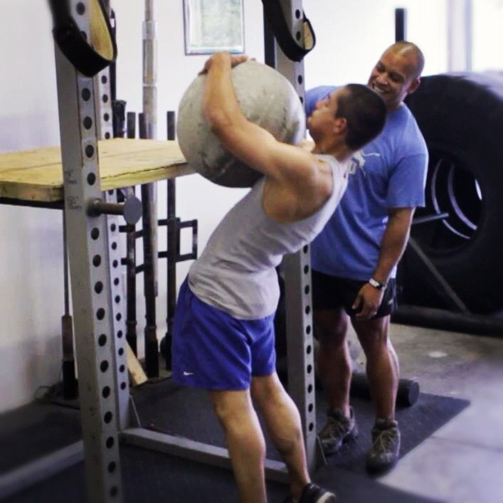 Stone Loading At Strength Camp with Elliott Hulse