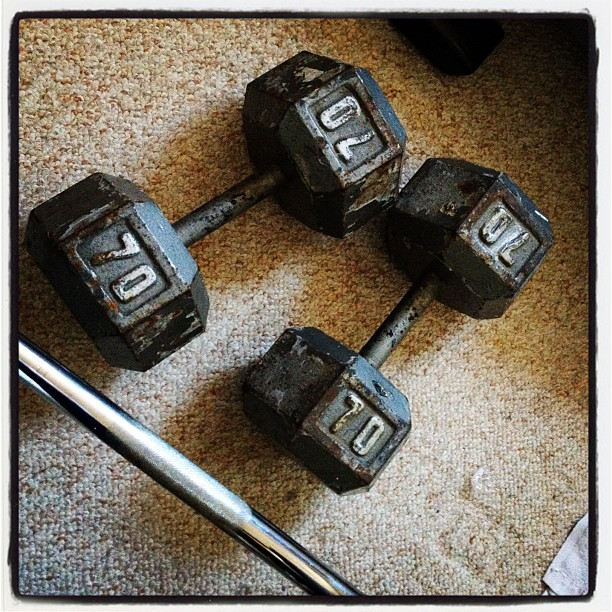 Dumbbells Craigslist Bodyweight And Strength Training To Get