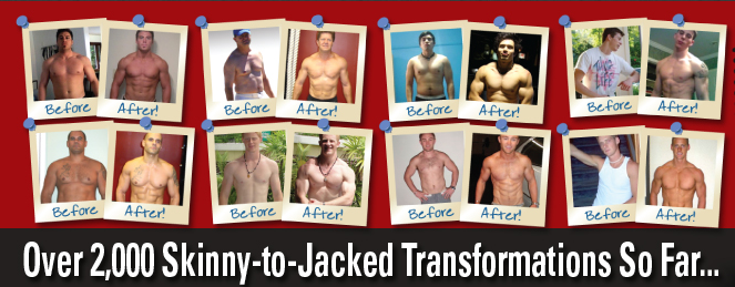 Over 2,000 Skinny To Jacked Transformation So Far..