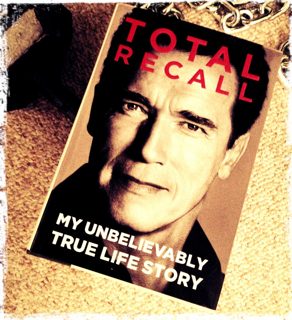 Arnold Schwarzenegger Total Recal Book
