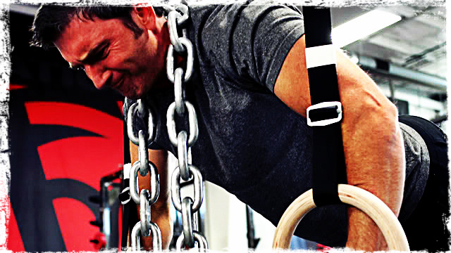 """""""You Are Now 10 Pounds Heavier when Doing Pull Ups, So Get Used to It!"""