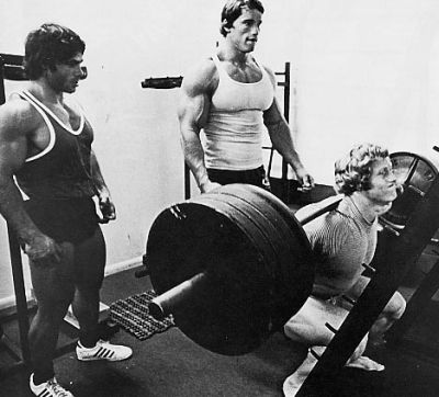 Franco Columbu squat - Bodyweight and Strength Training to ...