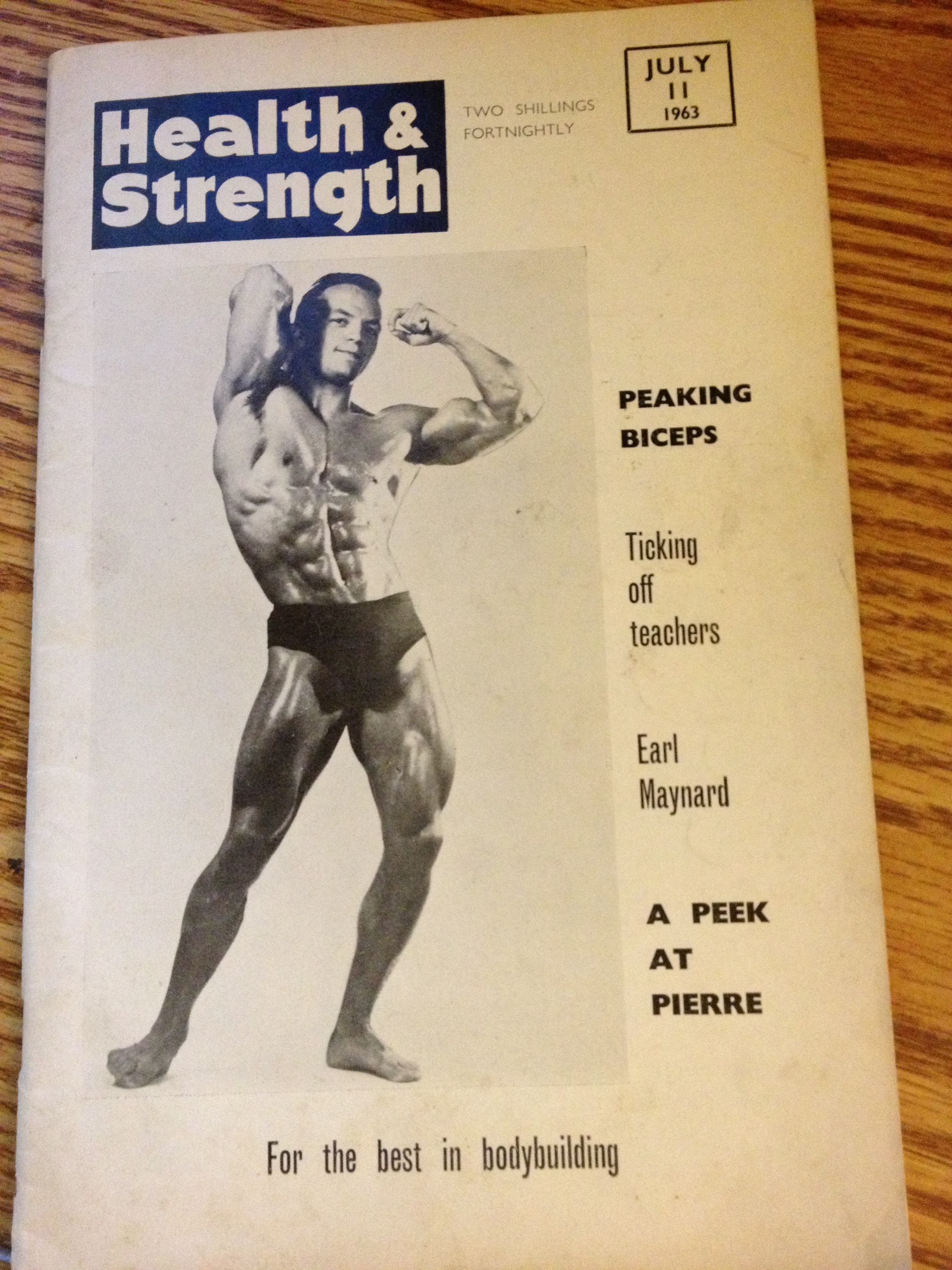 Strength & Health Magazin 1963