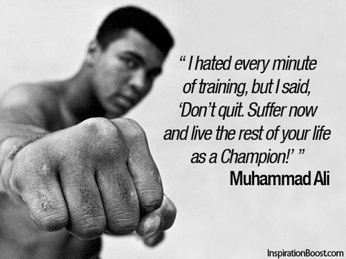 Muhammad Ali inspirational quote