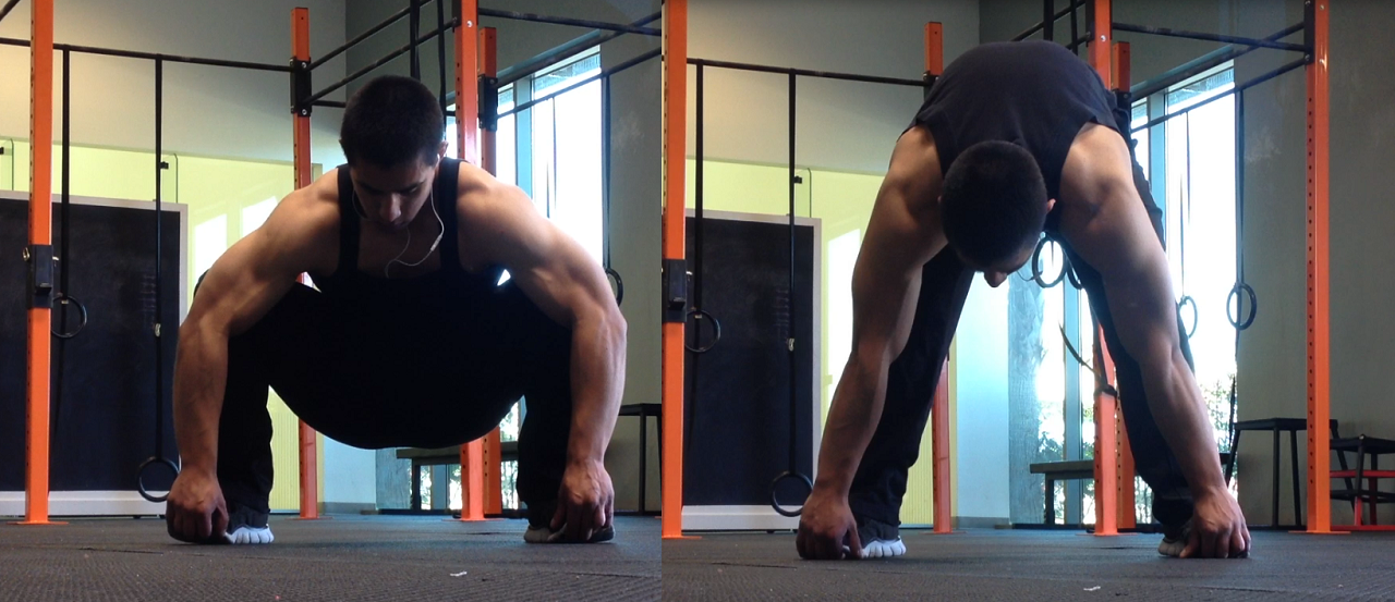 Deep Squats and Hamstring Stretch