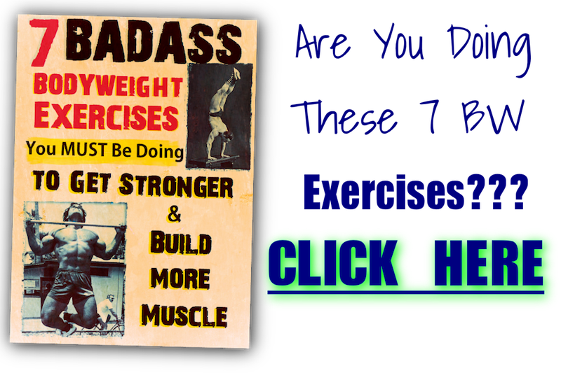 Free Bodyweight eBook to Get Stronger & Build More Muscle