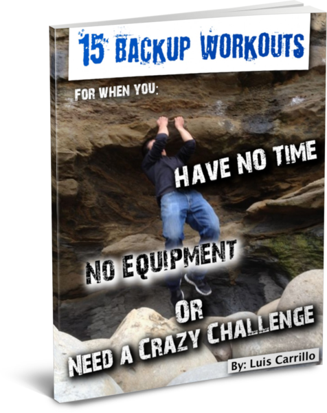 15 Backup Workouts