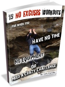 15 No Excuses Workouts