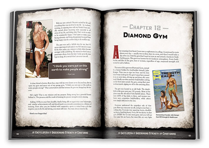 Encyclopedia of Underground Strength and Conditioning Book Chapter