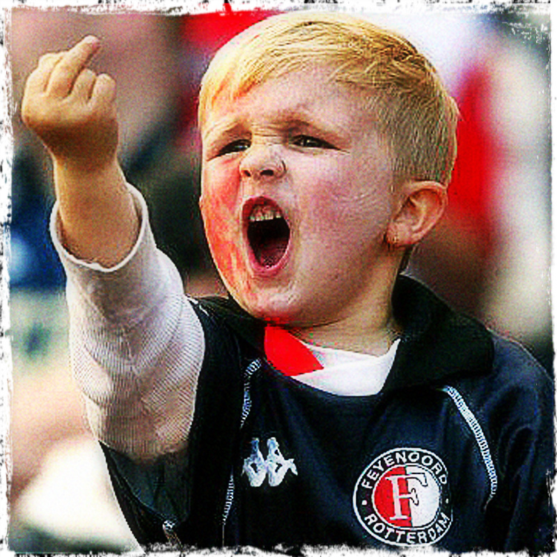 Kid Middle Finger