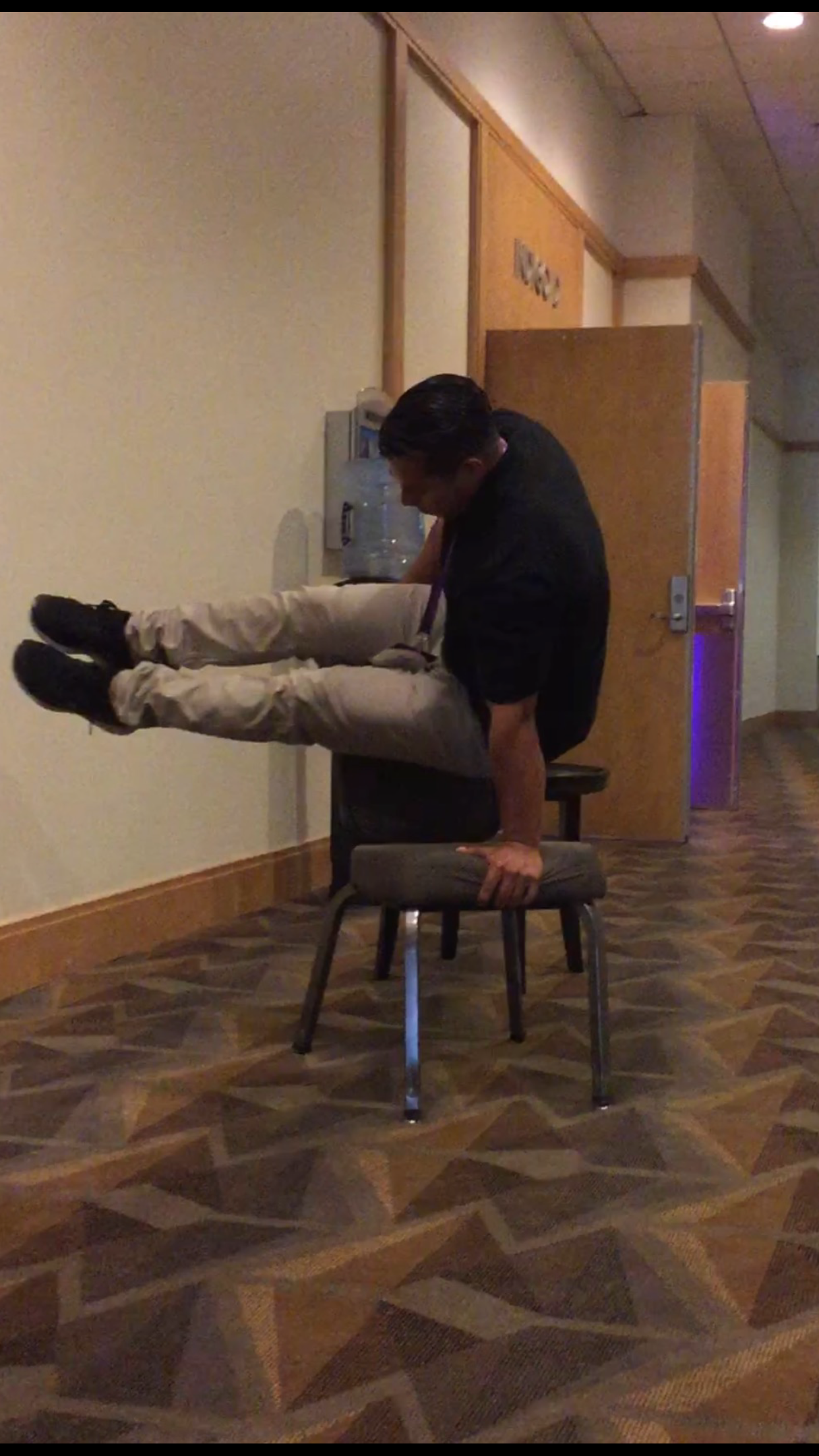 L- Sit on Chair
