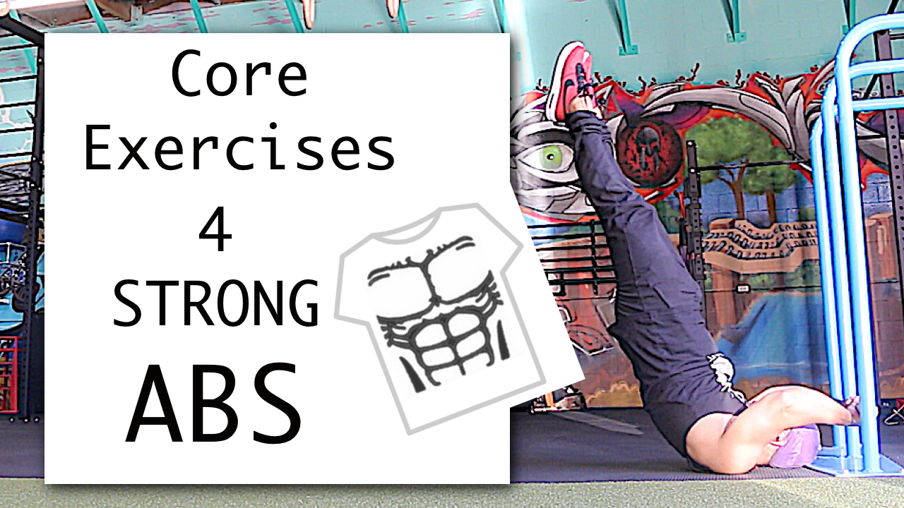 4 core exercises for strong abs