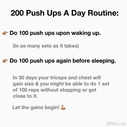 all posts tagged daily workout routine